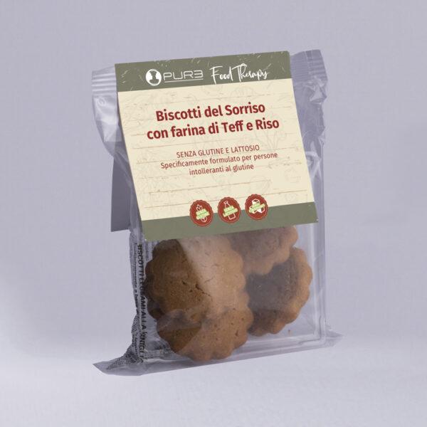 biscotti con farina di Teff